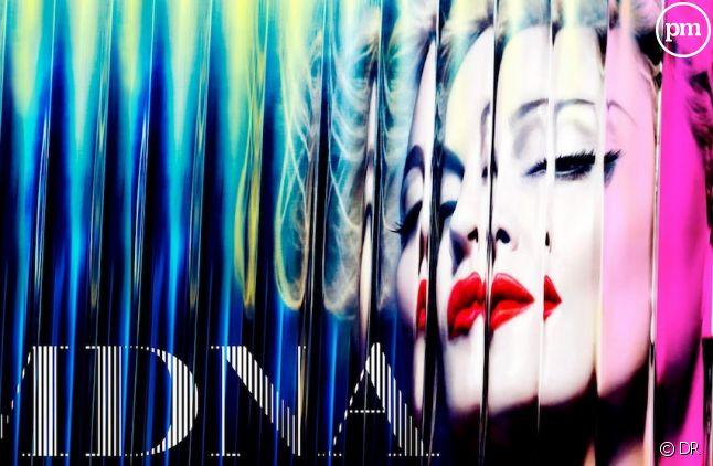 """Madonna sur la pochette de """"MDNA"""""""