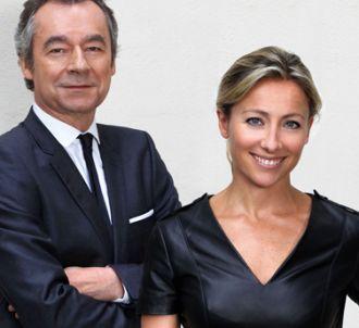 Michel Denisot et Anne-Sophie Lapix aux commandes du...