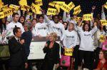 Téléthon : 94 millions d'euros de dons en 2011, en hausse sur un an