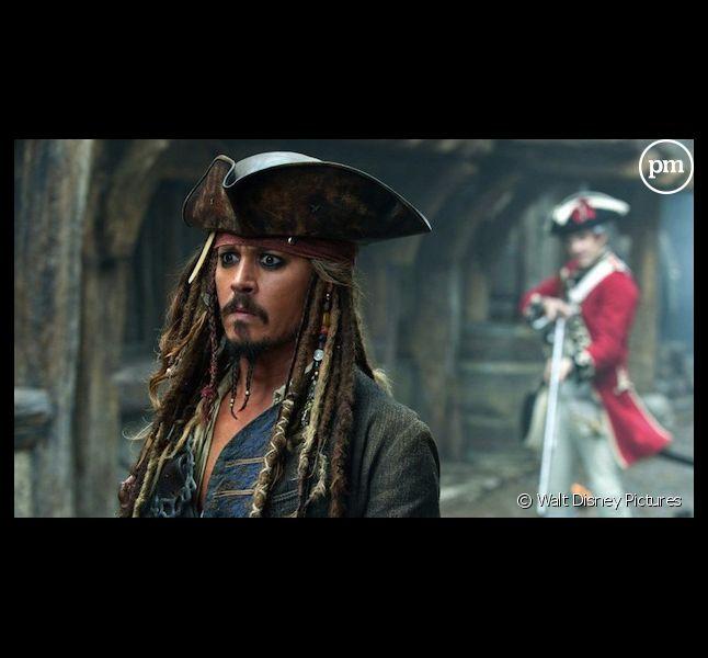 """Johnny Depp dans """"Pirates des Caraïbes 4 : la Fontaine de Jouvence"""" à 20h50 sur Canal+"""