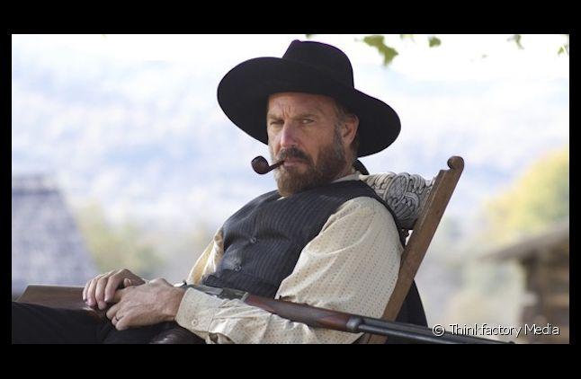 """Kevin Costner dans """"Hatfields & McCoys"""""""