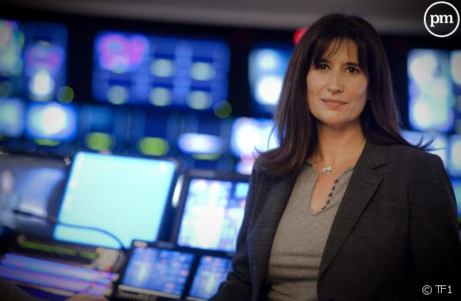 Catherine Nayl, directrice de l'information de TF1.