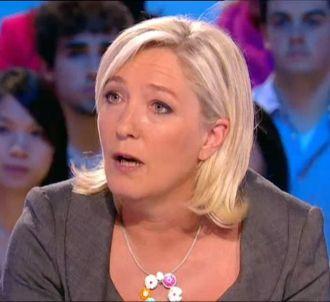 Marine Le Pen dans 'Le Grand Journal'