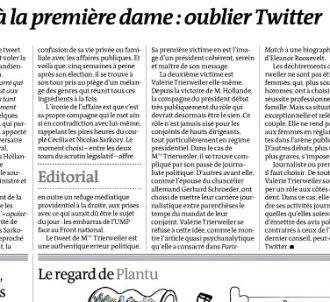 'Le Monde' daté du 14 juin 2012.