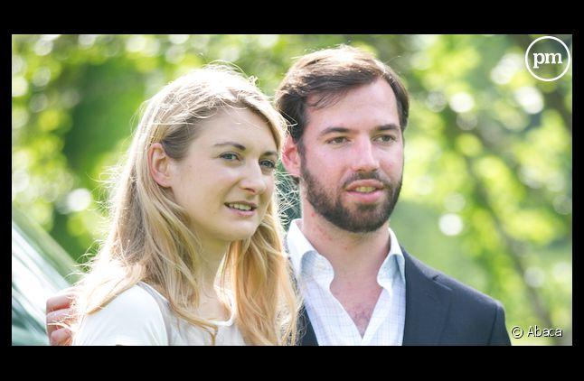 Le prince Guillaume de Nassau, grand-duc héritier de Luxembourg et la comtesse Stéphanie de Lannoy