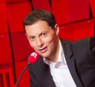 Marc-Olivier Fogiel aux commandes de 'RTL Soir'.