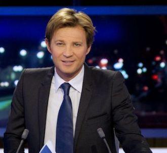 Laurent Delahousse sur le plateau du 20 heures