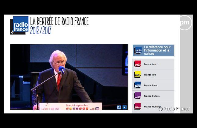 La conférence de presse de rentrée de Radio France était diffusée en streaming.