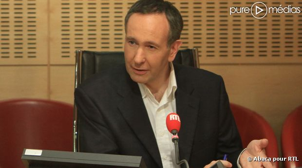 Laurent Bazin, nouvel anchorman de la matinale de RTL.