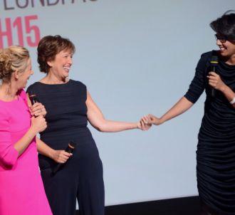 Laurence Ferrari, Roselyne Bachelot et Audrey Pulvar,...