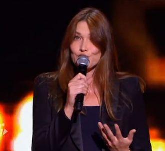 Carla Bruni reprend 'Vous qui passez sans me voir' de...