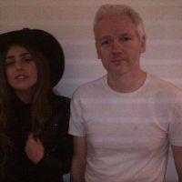 Lady Gaga a rendu visite à Julian Assange