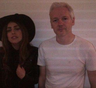 Lady Gaga et Julian Assange ont dîné ensemble