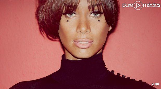"""Leona Lewis sur la pochette de l'album """"Glassheart"""""""