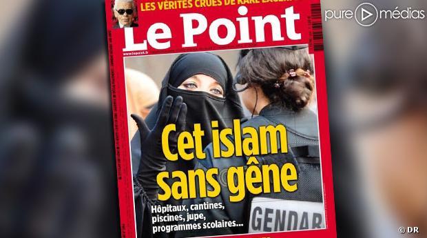 La Une du Point, daté du 1er novembre 2012.
