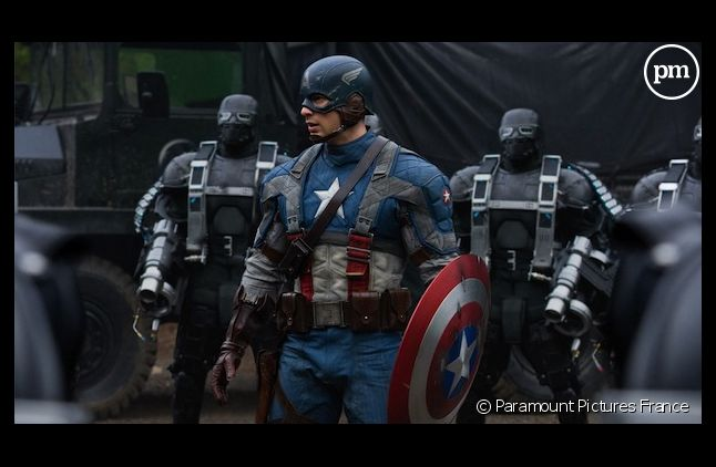"Canal+ diffuse ""Captain America : The First Avenger"""