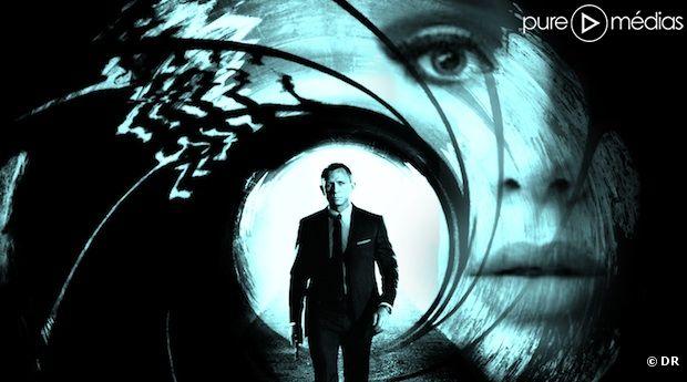 "Adele chante ""Skyfall"" sur la B.O. du nouveau James Bond."