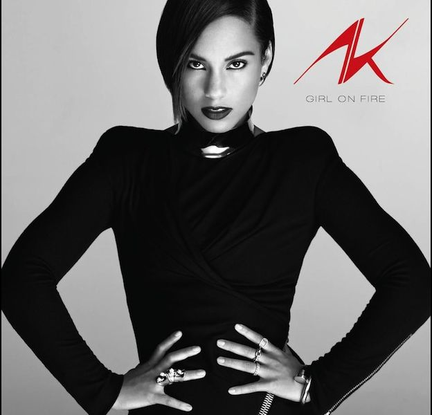 "1. Alicia Keys - ""Girl On Fire"""