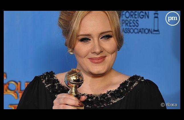 """Adele remporte un Golden Globe pour """"Skyfall"""", chanson de film de l'année"""