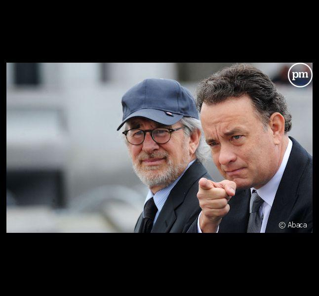 """Steven Spielberg et Tom Hanks, nouveau projet de série ensemble après """"Band of Brothers"""" et """"The Pacific""""."""
