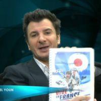 Zapping : Michaël Youn lit le scénario de son dernier film sur D8