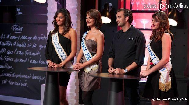 """Des anciennes Miss France s'invitent dans """"Top Chef"""" 2013"""