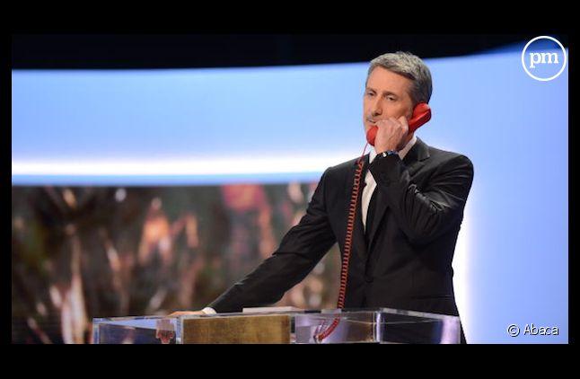 Antoine de Caunes a resigné pour présenter la cérémonie des César en 2014.