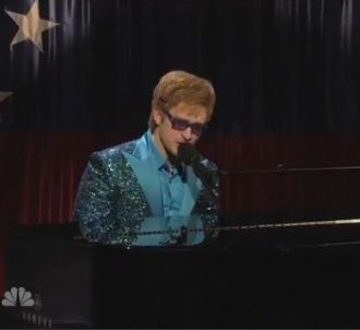 Justin Timberlake parodie Elton John dans 'Saturday Night...