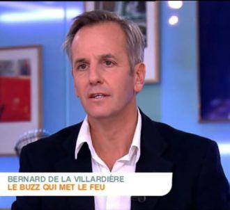 Bernard de la Villardière se justifie.