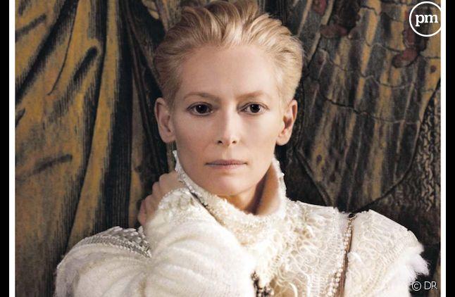 Tilda Swinton, nouvelle égérie Chanel.