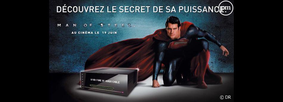 """Numéricable s'associe au lancement de """"Man of Steel"""""""