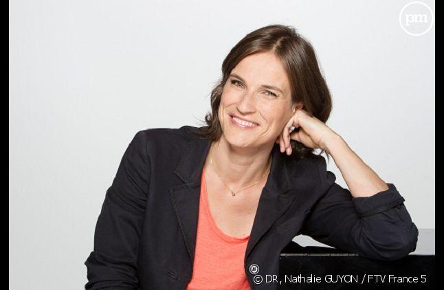 """Claire Fournier, l'animatrice depuis 2008 de """"C'est notre affaire"""" sur France 5."""