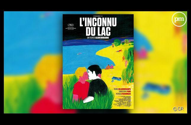 "L'affiche du film ""L'inconnu du lac""."