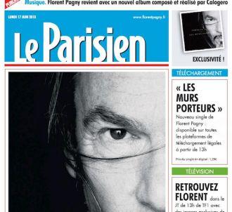 Florent Pagny détourne la Une du 'Parisien'