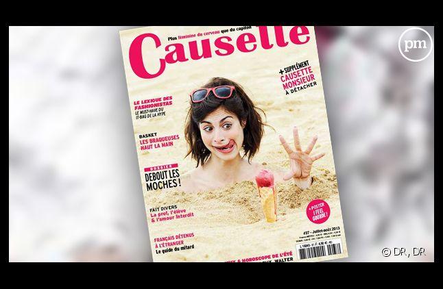"Le magazine ""Causette""."