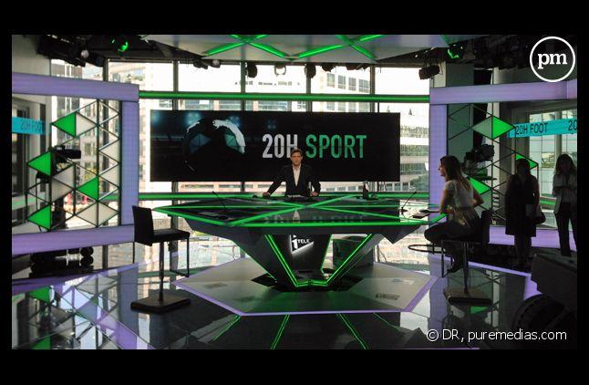 Les nouveaux studios d'i-Télé.