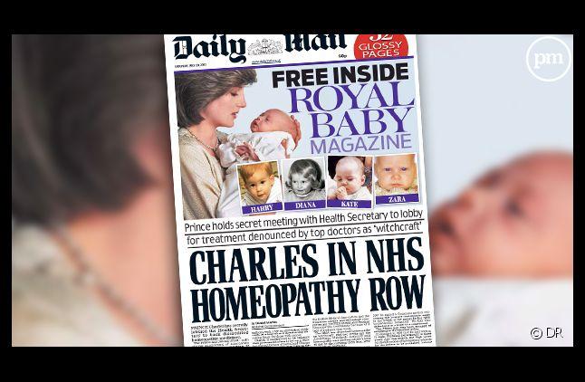 La Une du Daily Mail, datée du 20 juillet 2013.