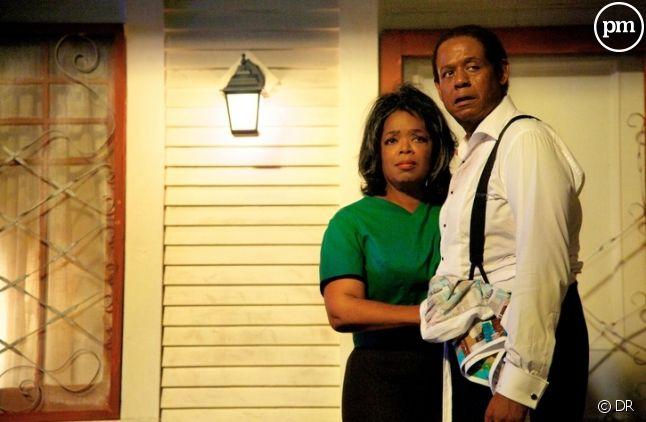 "Oprah Winfrey et Forest Whitaker dans ""Le Majordome"""