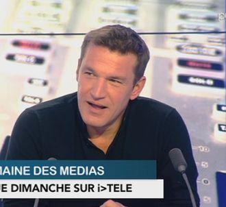 Benjamin Castaldi dans 'La semaine des médias' sur i-Télé