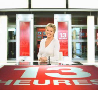 Elise Lucet présente le JT de '13 Heures' depuis...
