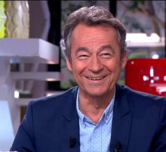 Michel Denisot dans 'C à vous', le 10 septembre.