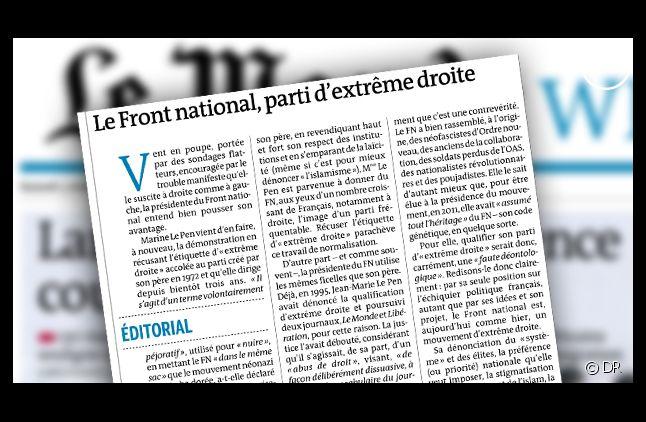 """""""Le Monde"""", daté du 5 octobre 2013."""
