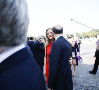 Marie-Charline Pacquot, compagne de Pierre Moscovici,...
