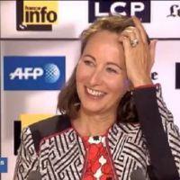 LCP : Ségolène Royal veut qu'on coupe au montage sa phrase