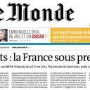 """Le journal """"Le Monde"""" a bouclé sa Une avant le démenti de la libération des otages français enlevés au Cameroun."""