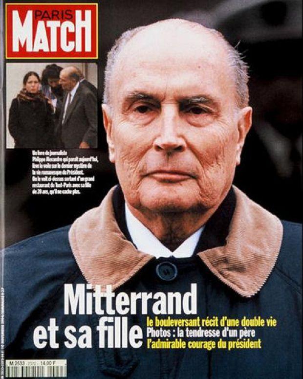 La Une de<em> Paris Match</em> sur la fille cachée de François Mitterrand