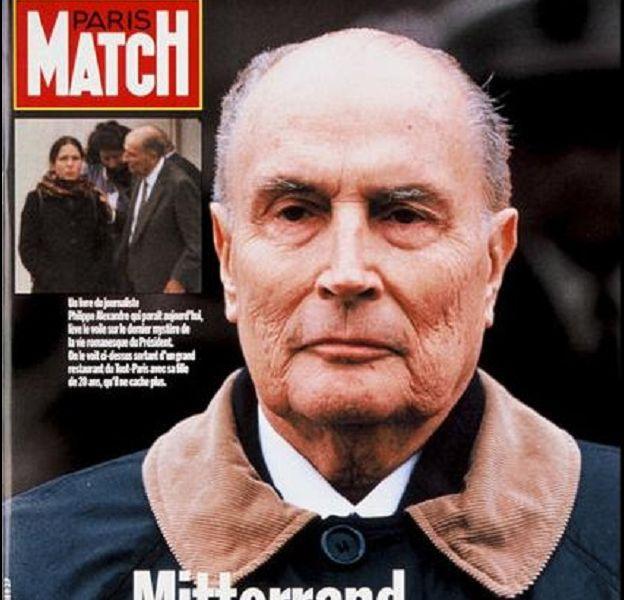 La Une de Paris Match sur la fille cachée de François Mitterrand