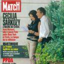 La Une de  Paris Match  sur Cécilia et Richard Attias