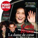 La Une de  Point de Vue  sur Nicolas Sarkozy et Carla Bruni