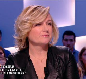 Anne-Elisabeth Lemoine dans 'Le Grand Journal', le 17...